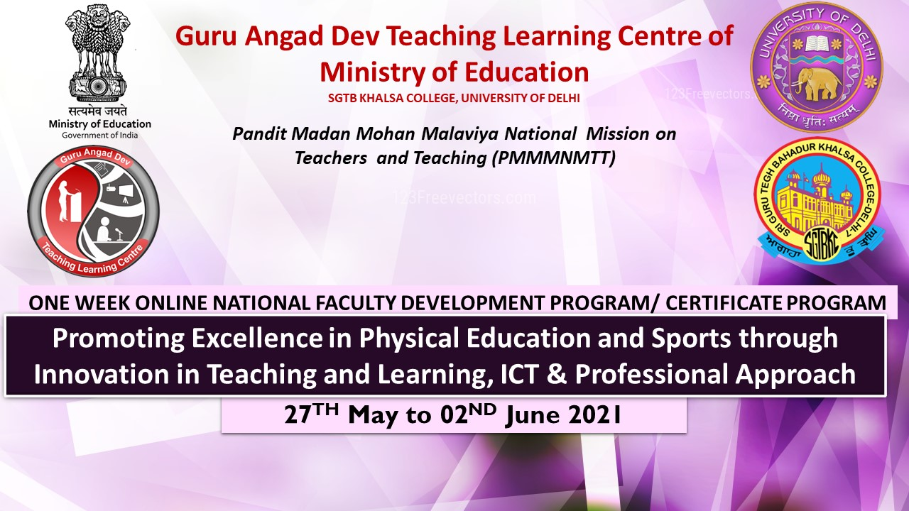 Course Image FDP-44 Promoting Excellence in Physical Education and Sports through Innovation in Teaching and Learning, ICT & Professional Approach
