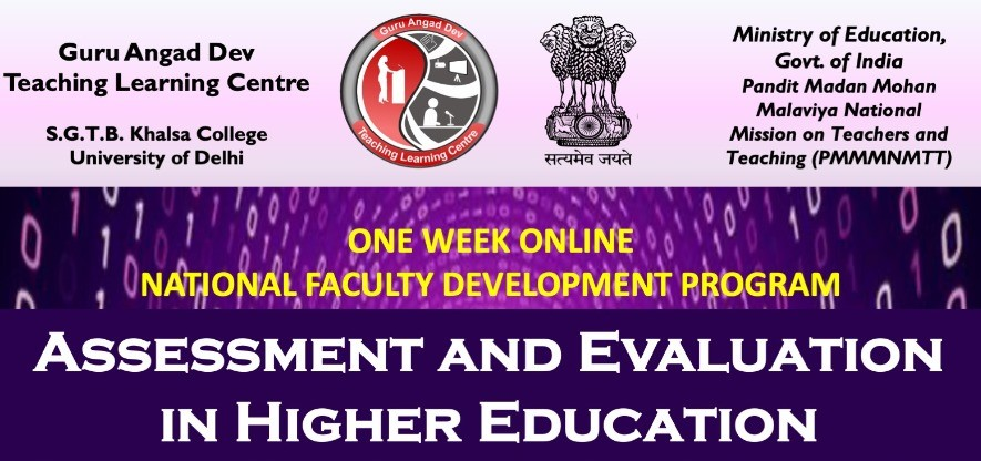 Course Image OFDP-49 Assessment and Evaluation in Higher Education