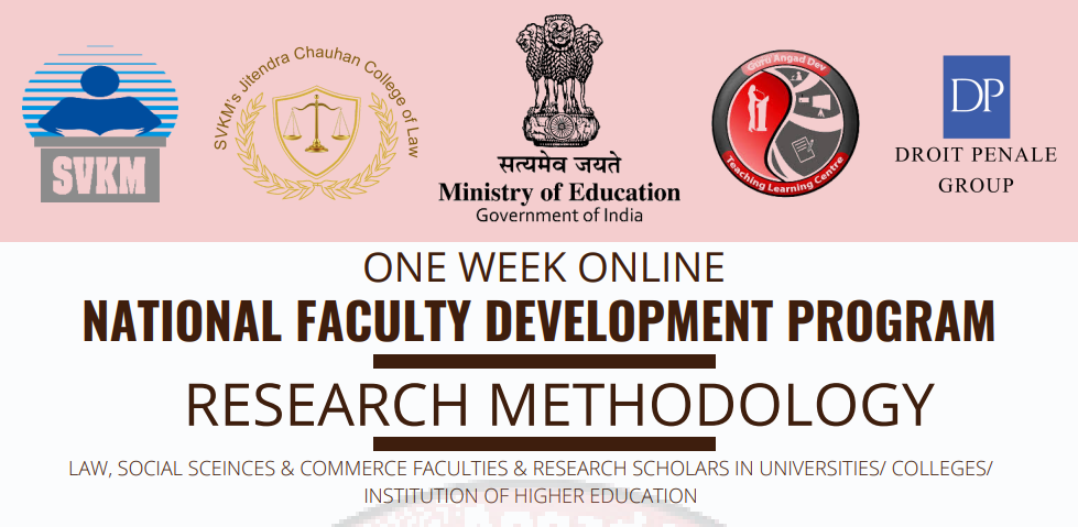 Course Image OFDP-58 RESEARCH METHODOLOGY